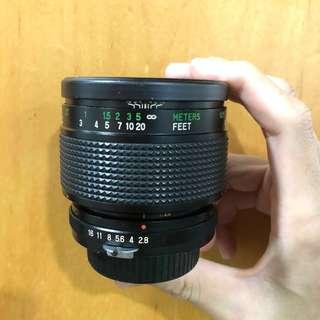 Vivitar 55mm F2.8 macro Nikon
