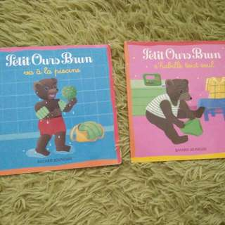 French Book - Petit Ours Brun (2bks)