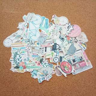 Mixed stickers