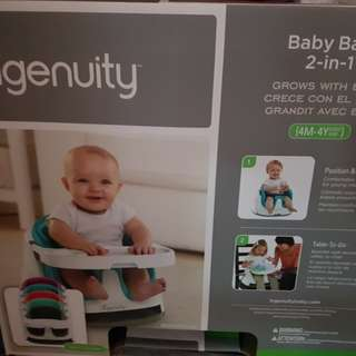 Ingenuity baby chair - red