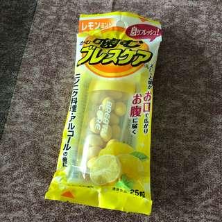 日本小林製藥除口氣檸檬味糖,包郵