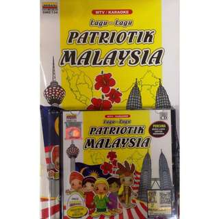 Lagu-lagu Patriotik Malaysia MTV Karaoke VCD free Buku