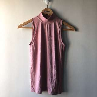 Stradivarius Turtle Neck — Pink