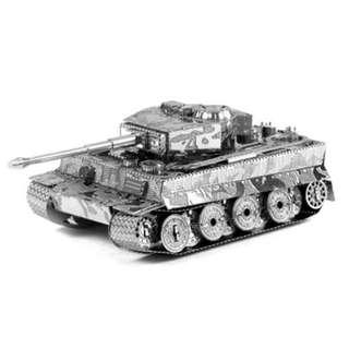 (全新) TAKARA TOMY Metallic Nano Puzzle 超細密金屬片模型系列 Tank 坦克車 砌圖 禮物 生日