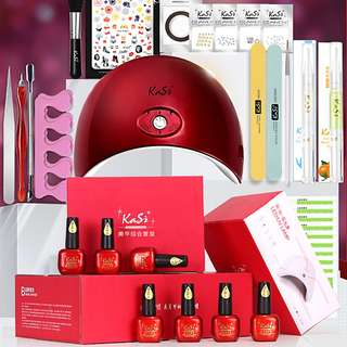 Bestseller Promo! Kasi Goddess Manicure Set 36W LED UV Lamp