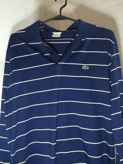 Auth Lacoste long sleeves