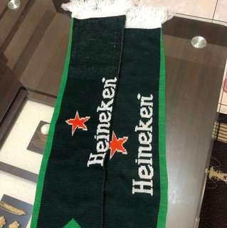 Heineken 海尼根圍巾