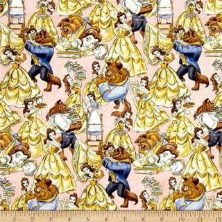Beauty And The Beast Cotton Woven