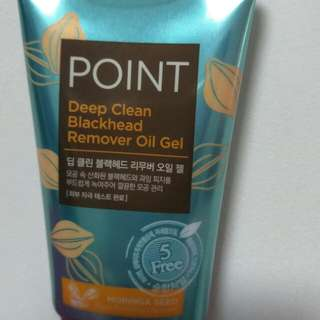 Aekyung Point Deep Clean Black Head Remover Oil Gel 60ml / Oil Cleanser