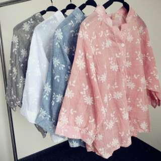[PO] Euro Embroidered Batwing Blouse (22)