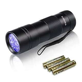 Vansky UV Flashlight 12 LED Ultraviolet  Black Light