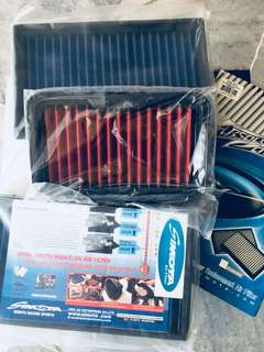 Simota drop-in air filter for various cars