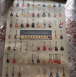 吉他🎸牛皮海報