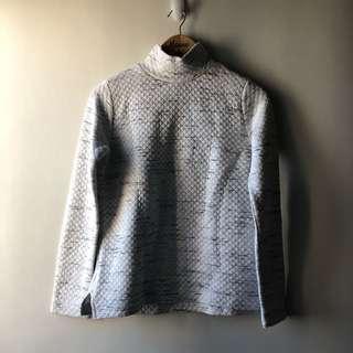Stradivarius Quilted Sweater