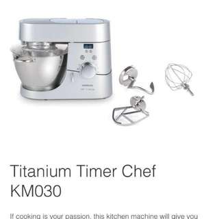 Kenwood Titanium Chef with Timer KM030