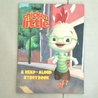 children's chicken little movie story book (children's books)