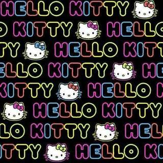 Hello Kitty Cotton Woven Fabric