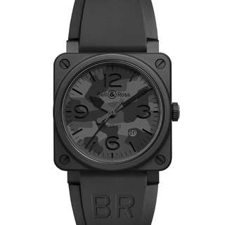 Bell & Ross BR03-92 Black Camo Ceramic