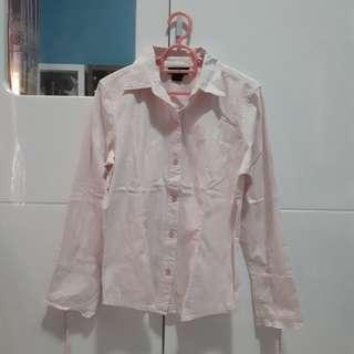 Kemeja Pink Wanita