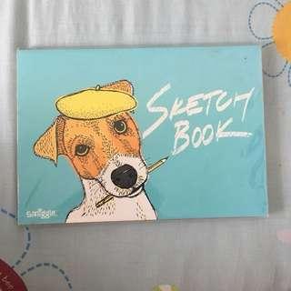 sketch book A5 SMIGGLE ORI SPORE