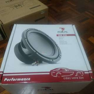 Car Subwoofer, Focal 10 inch Subwoofer