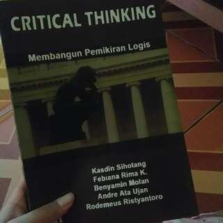 Critical Thinking: Membangun Pemikiran Logis Kasdin Sihotang