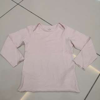 Baby Gap Pink Top(18-24m)