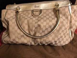Gucci 手袋 85%新 正品