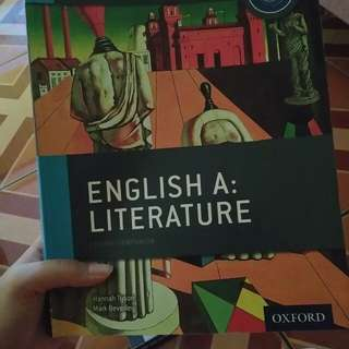 English A Literature: Course Companion OXFORD