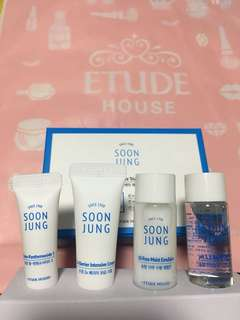 Soon Jung Skin care trial kit