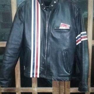 riding leather jacket made in usa