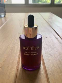 100% Genuine Missha Time Revolution Night Repair Borabit Ampoule Serum. 50ml bottle.