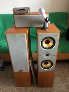 Complete 3.0 audio system