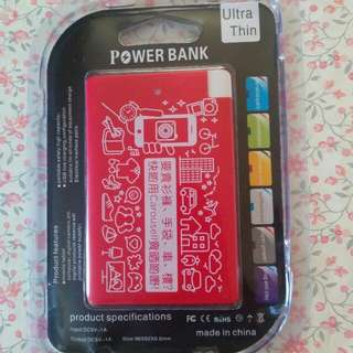 Carousell Powerbank 2500 mah