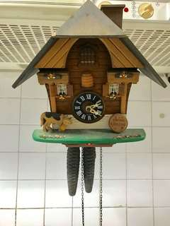Vintage Cuckoo Clock bought in Switzerland Couple of years