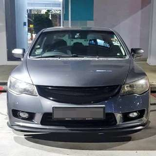 Installation Of Rims Protector Guard Service Done On Honda Civic