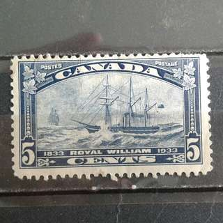 1933 Canada-Royal William stamps