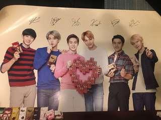 Exo Exo-k pepero poster