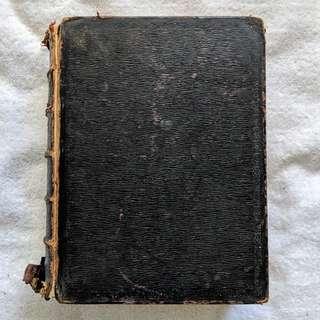 Antique KJV Bible Circa late-1800s