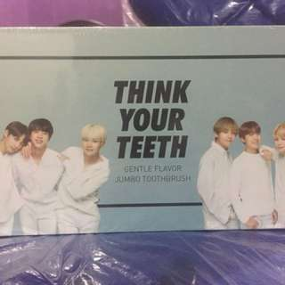 [ REDUCED ] BTS x VT Jumbo Toothbrush (Black)