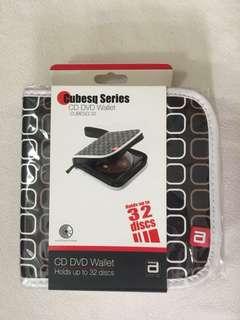 Brand New Cubesq Series CD DVD Wallet