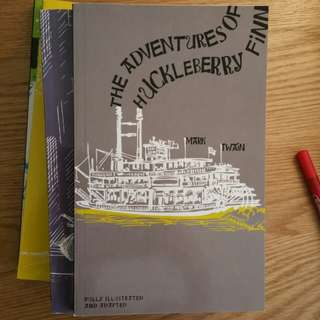 The Adventures of Huckleberry Finn Fully Illustrated and Adapted
