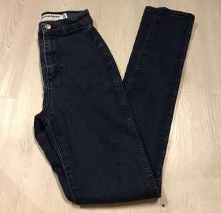 AA american apparel dark denim highwaisted jeans authentic