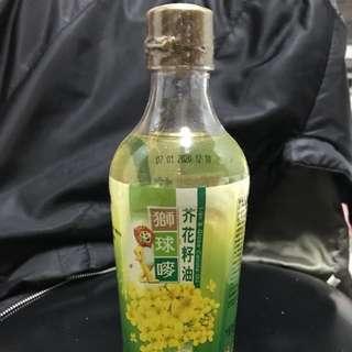 獅球嘜芥花籽油600毫升