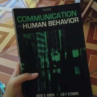 Communication and Human Behaviour Brent D. Ruben