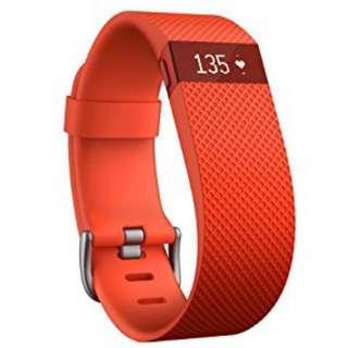 Fitbit Charge HR - Orange Color 橙色fitbit 手環 large size