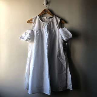 Zara Butas Balikat Dress