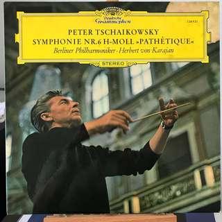 Tchaikovsky Symphony 6 Karajan DG 138921