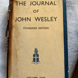 Rev. John Wesley Journals, Vol of 8, 1938 Commemorative Reprint