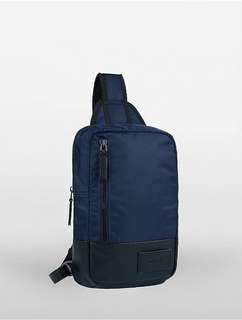 Calvin Klein two tone sling backpack